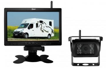 Camera surveillance filaire