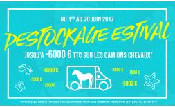 Destockage Estival du 1er au 30 Juin 2017